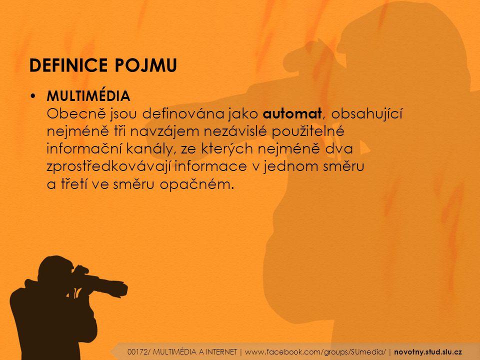  PRVNÍ GRAFICKÝ PROHLÍZEČ (MOSAIC) 00172/ MULTIMÉDIA A INTERNET   www.facebook.com/groups/SUmedia/   novotny.stud.slu.cz