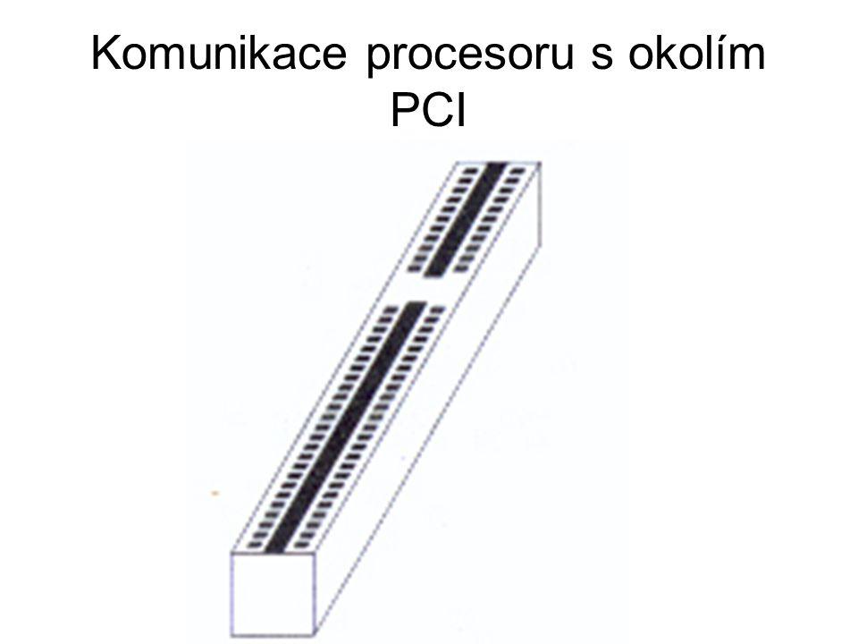 Komunikace procesoru s okolím PCI