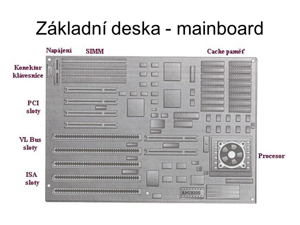 Základní deska - mainboard