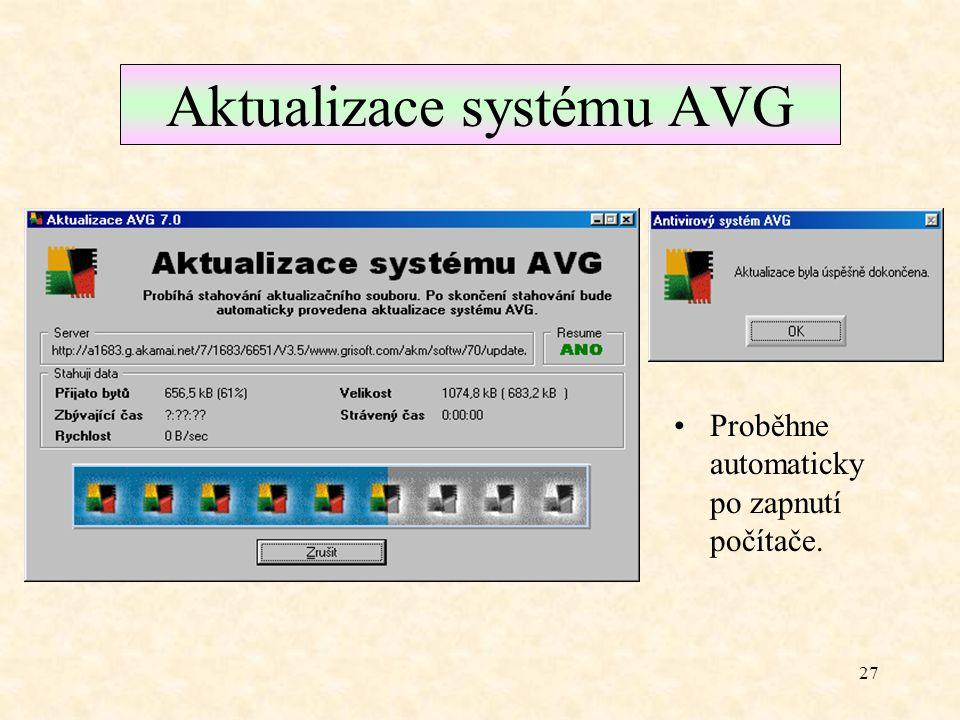 26 Automaticky spouštěný text Výpis informace o dokončení testu.