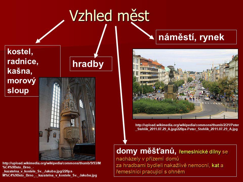 Vzhled měst náměstí, rynek hradby http://upload.wikimedia.org/wikipedia/commons/thumb/2/21/Peter _Stehlik_2011.07.29_A.jpg/220px-Peter_Stehlik_2011.07