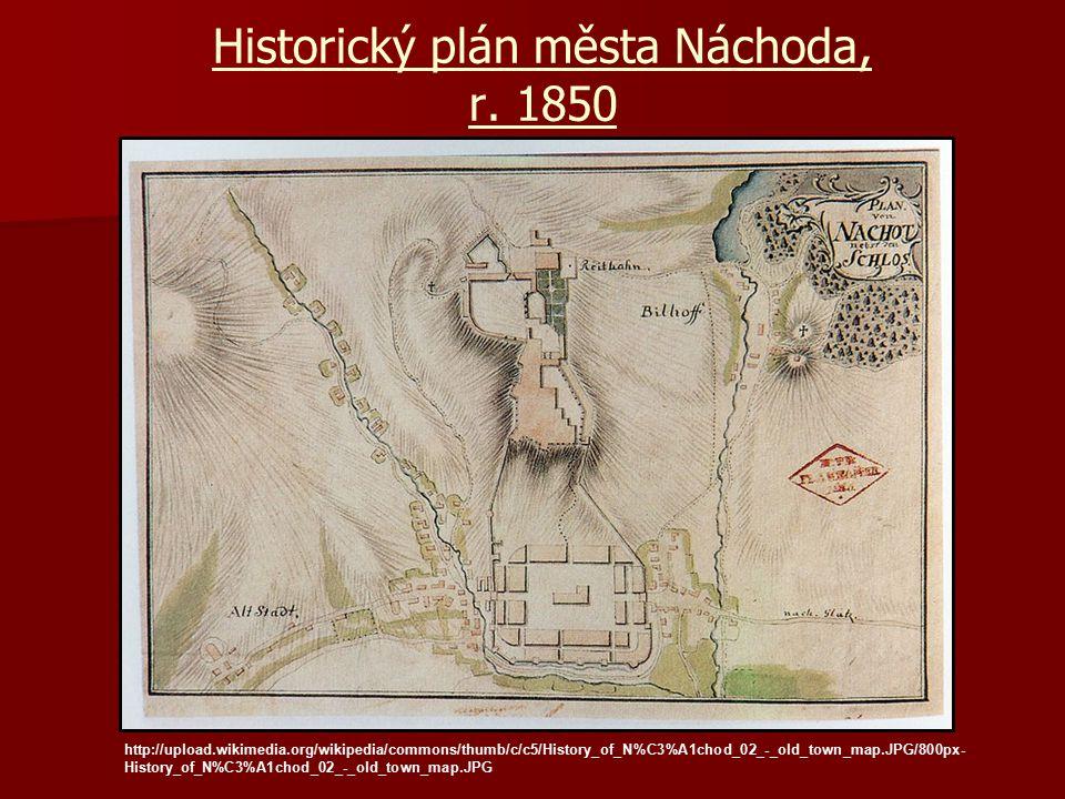 Historický plán města Náchoda, r. 1850 http://upload.wikimedia.org/wikipedia/commons/thumb/c/c5/History_of_N%C3%A1chod_02_-_old_town_map.JPG/800px- Hi