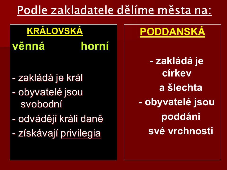 Přemysl Otakar I., Václav II.