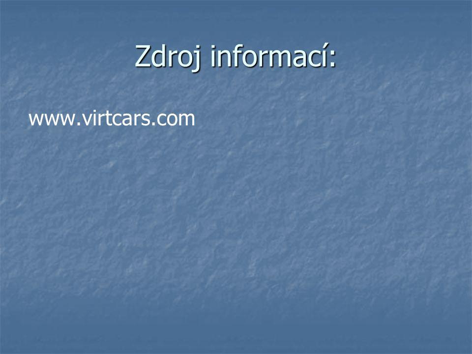 Zdroj informací: www.virtcars.com