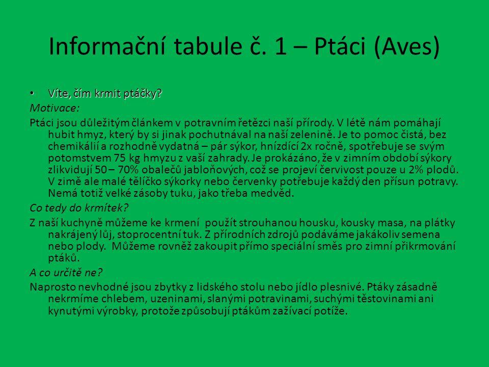 Informace poskytl server www.ochranaprirody.cz. www.ochranaprirody.cz Děkuji za pozornost.