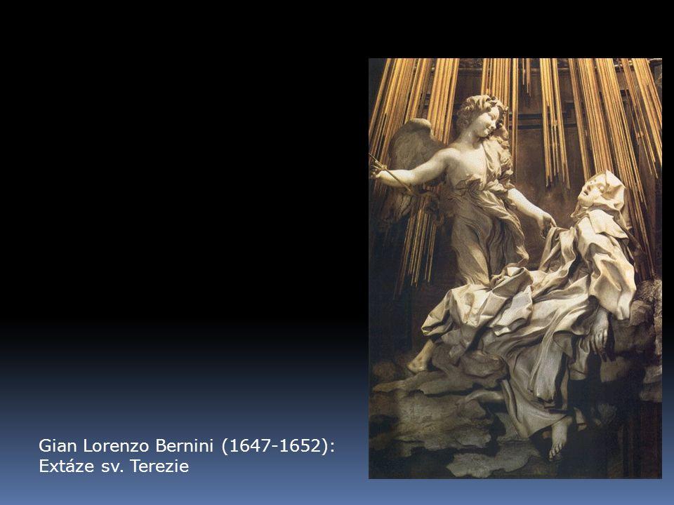 Gian Lorenzo Bernini (1647-1652): Extáze sv. Terezie