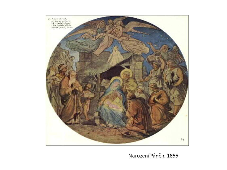 Narození Páně r. 1855