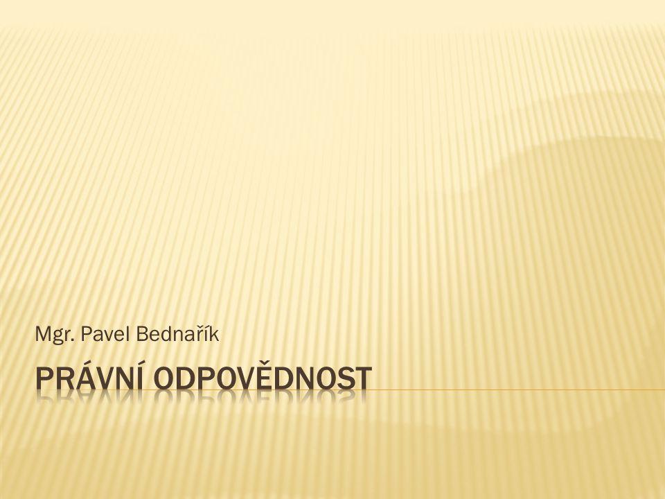 Mgr. Pavel Bednařík