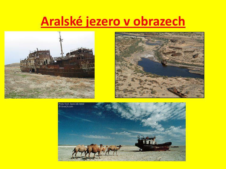 Otázky a úkoly : 1.Vysvětli co je hlavními příčinami vysychání Aralského jezera .