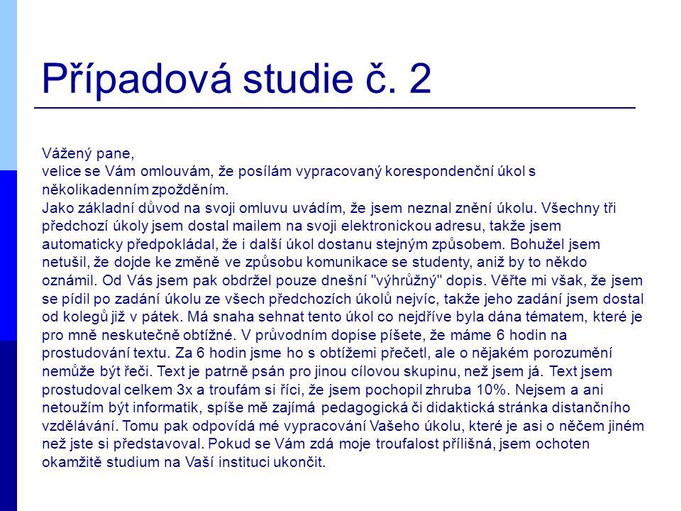 Případová studie č.