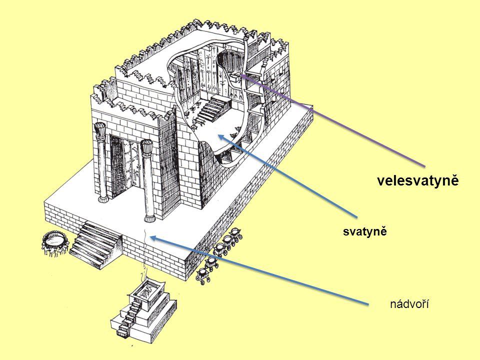 Šalomoun začal budovat v Jeruzalémě Hospodinův dům na hoře Mórija, kde se Hospodin ukázal jeho otci Davidovi, na místě, které připravil David, na humn