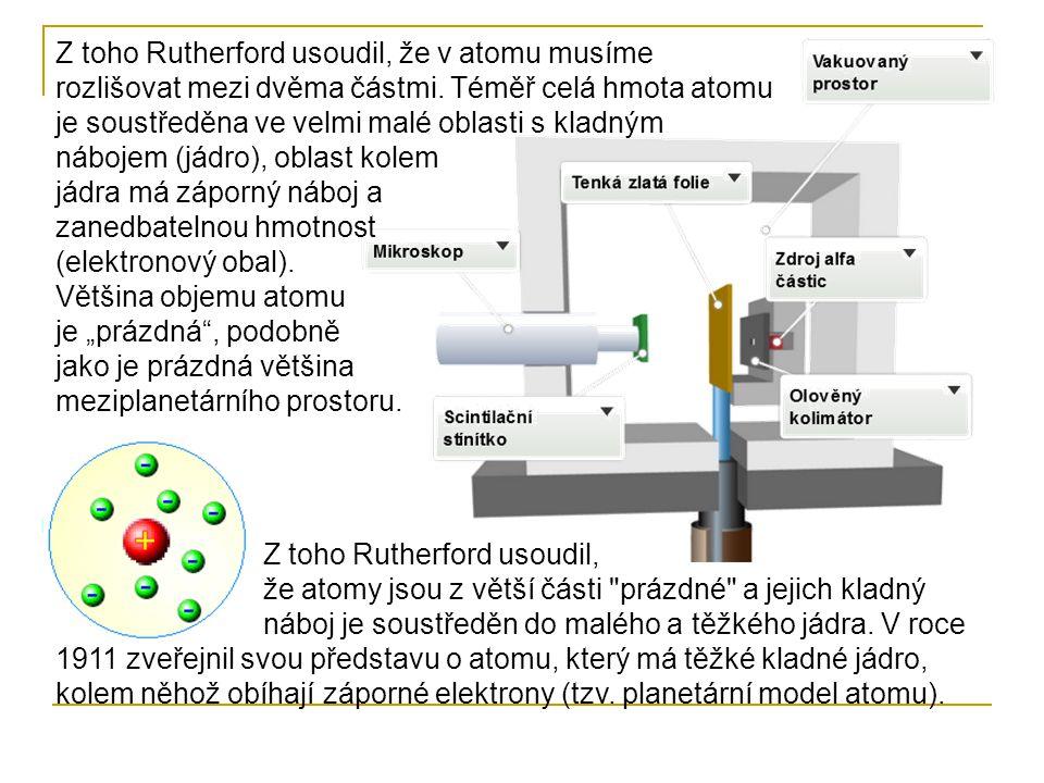Žádná grafická interpretace atomu nevyjadřuje skutečný poměr mezi jádrem a elektronovým obalem.
