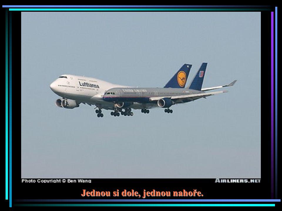 Co dělá osobní letadlo v našem vzdušném prostoru?