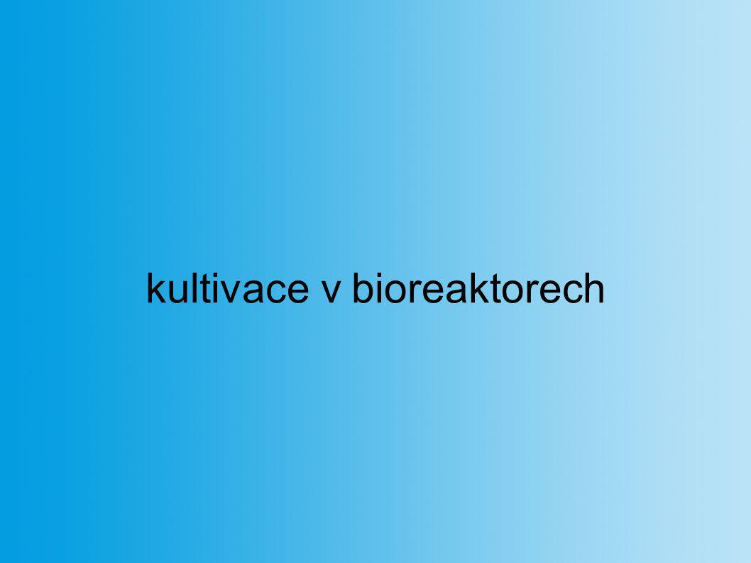kultivace v bioreaktorech