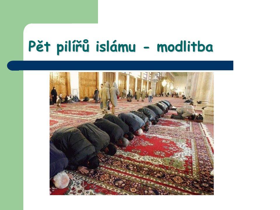Pět pilířů islámu - modlitba