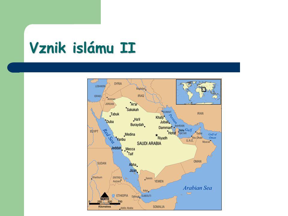 Vznik islámu III Mekkánci zjevení nepřijali, Muhammad r.