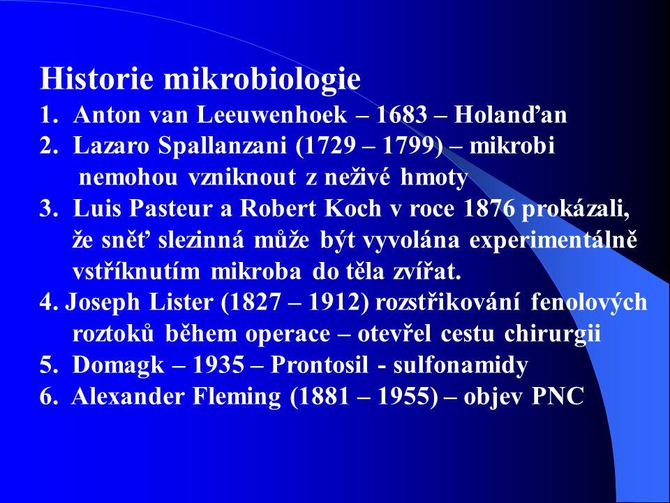 Původci infekčních onemocnění 1.Priony (BSE, CJD) 2.