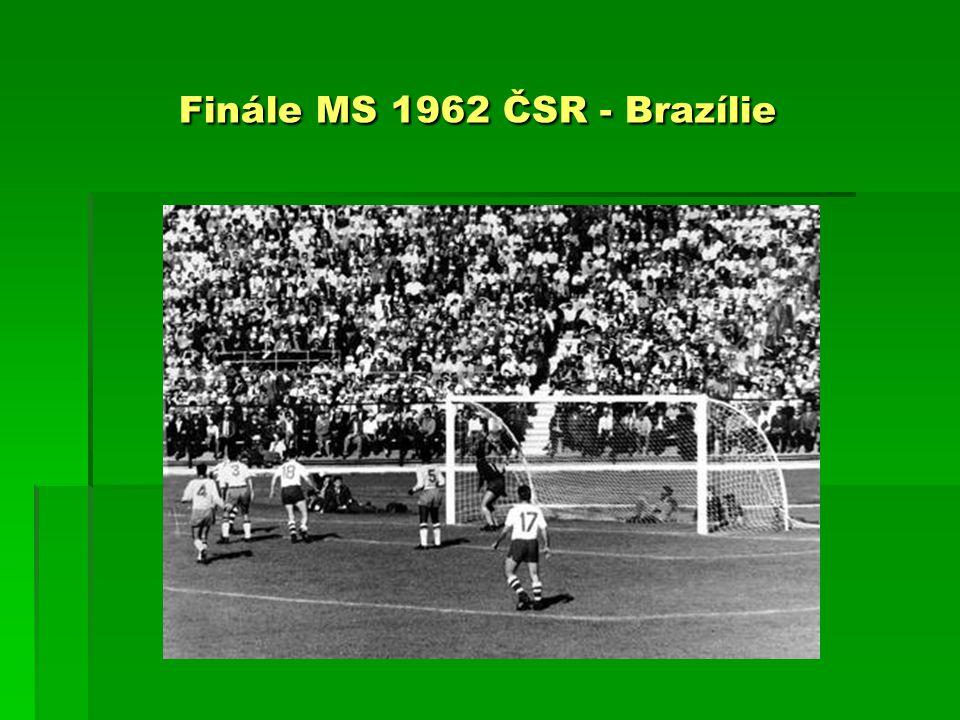 Finále MS 1962 ČSR - Brazílie Finále MS 1962 ČSR - Brazílie