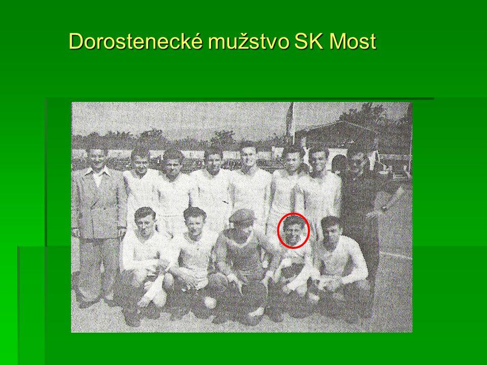 Dorostenecké mužstvo SK Most
