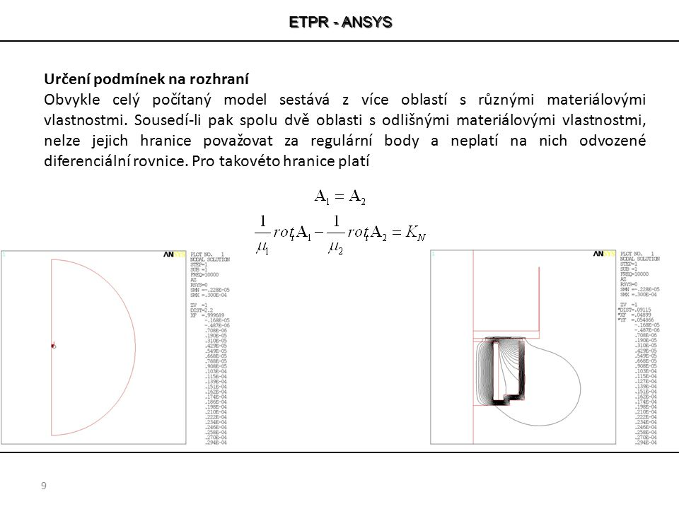 ETPR - ANSYS 10