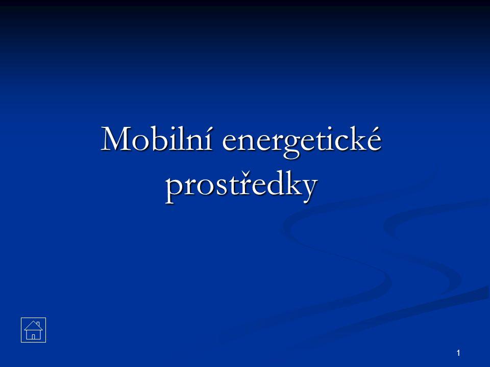 1 Mobilní energetické prostředky