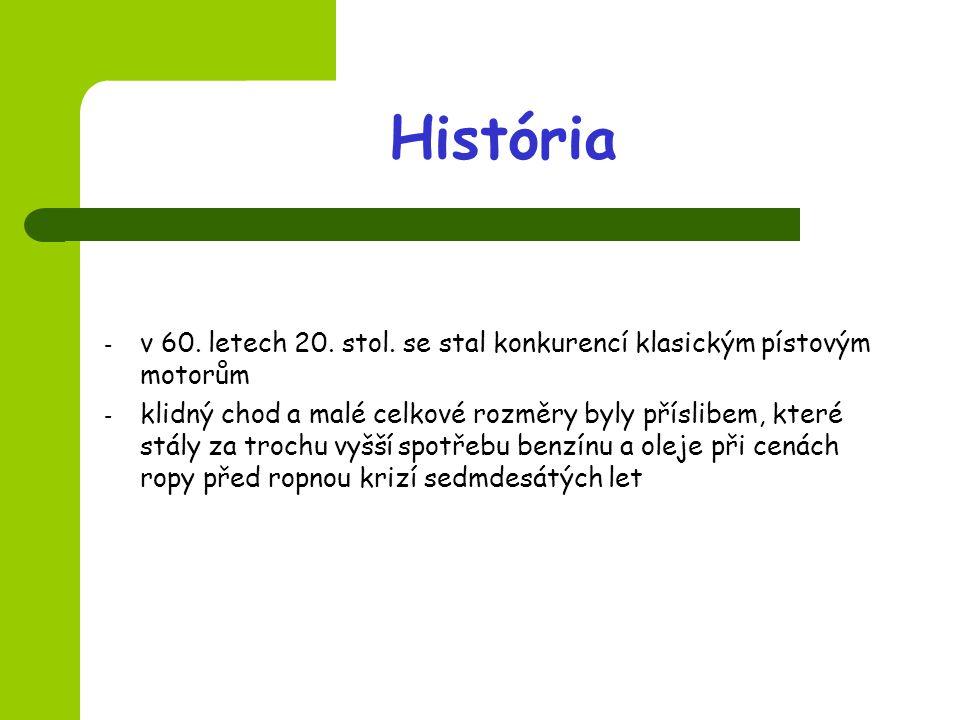 História - v 60.letech 20. stol.