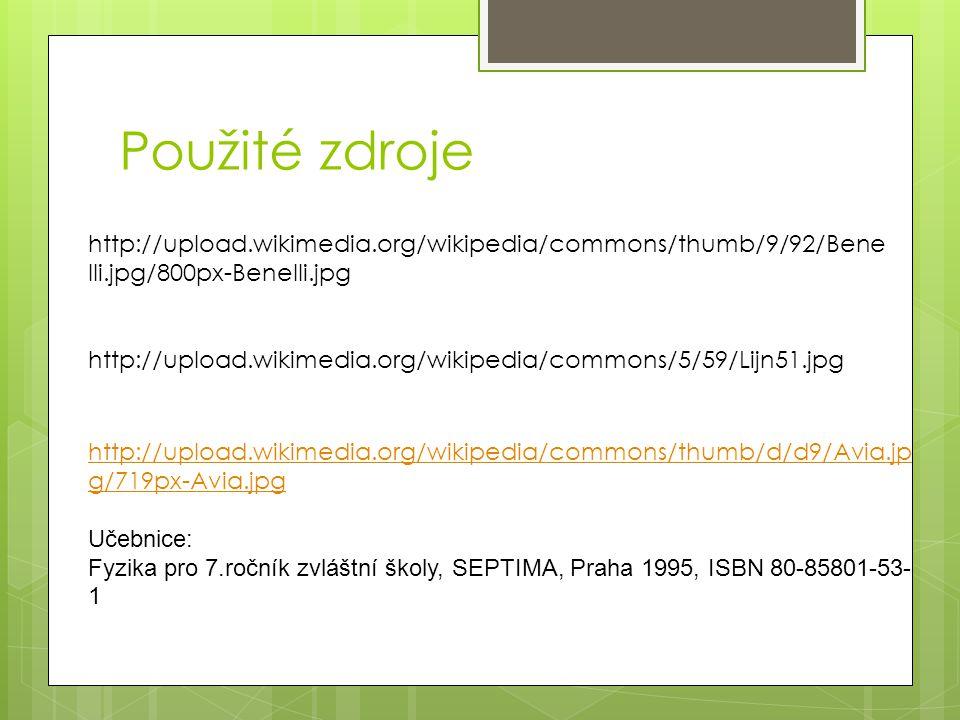 Použité zdroje http://upload.wikimedia.org/wikipedia/commons/5/59/Lijn51.jpg http://upload.wikimedia.org/wikipedia/commons/thumb/9/92/Bene lli.jpg/800