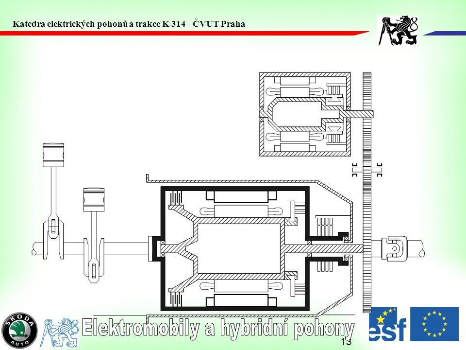 13 Katedra elektrických pohonů a trakce K 314 - ČVUT Praha