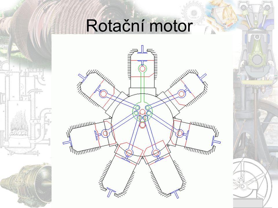 Tepelný motor  Je stroj, který přeměňuje tepelnou energii nějakého média na jinou, nejčastěji mechanickou formu.