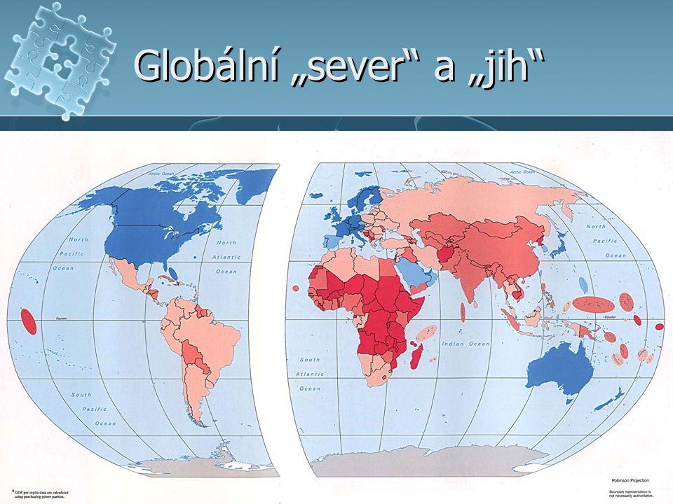 """Globální """"sever"""" a """"jih"""""""