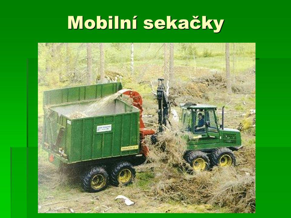 Mobilní sekačky