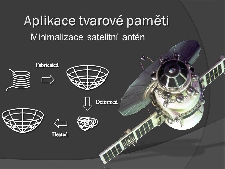 Minimalizace satelitní antén
