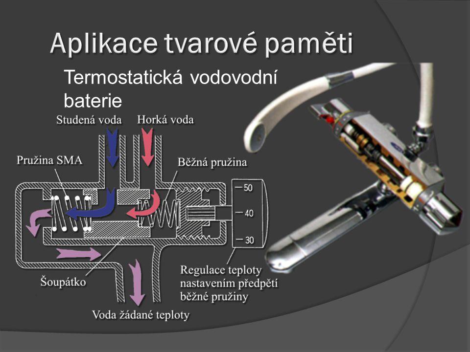 Termostatická vodovodní baterie