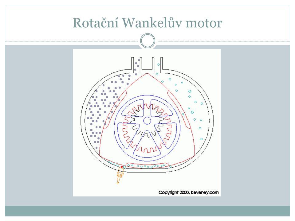 Rotační Wankelův motor