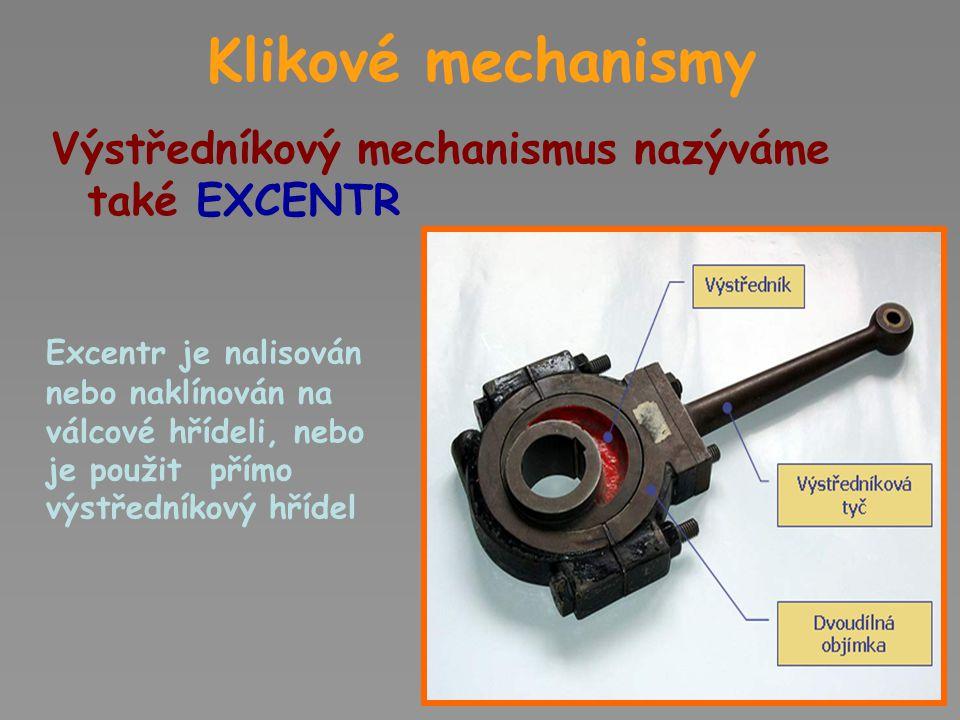 Klikové mechanismy Použití klikových mechanismů je nejrozšířenější v automobilovém průmyslu Moderní motory BMW
