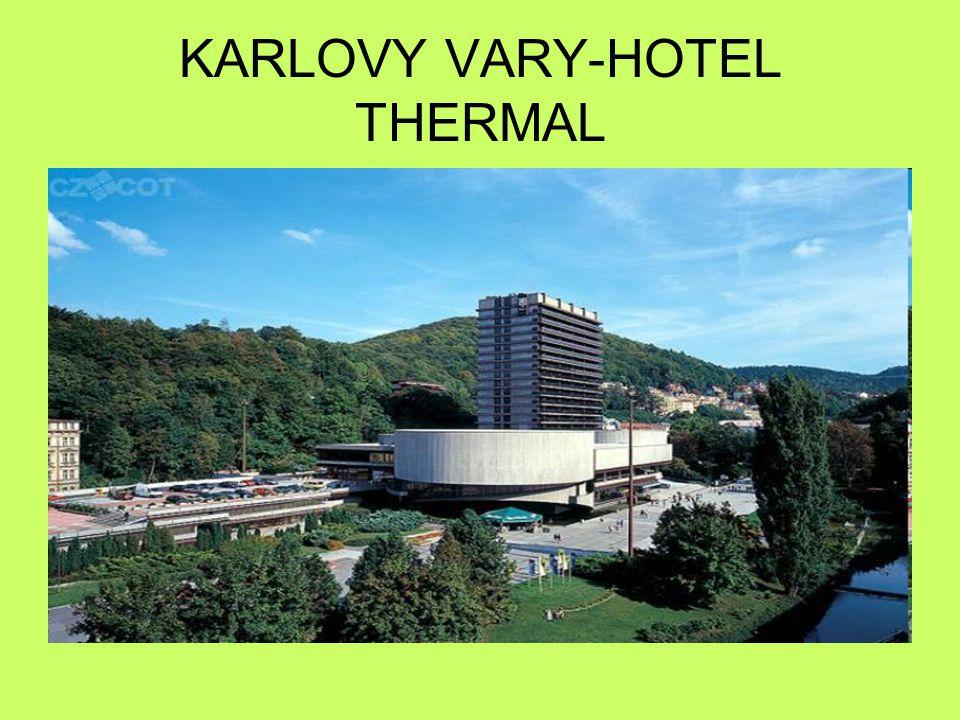 KARLOVY VARY-HOTEL THERMAL