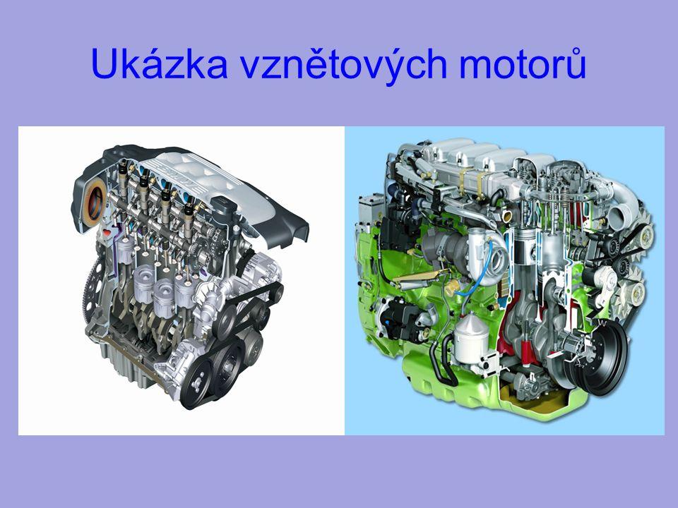 Ukázka vznětových motorů