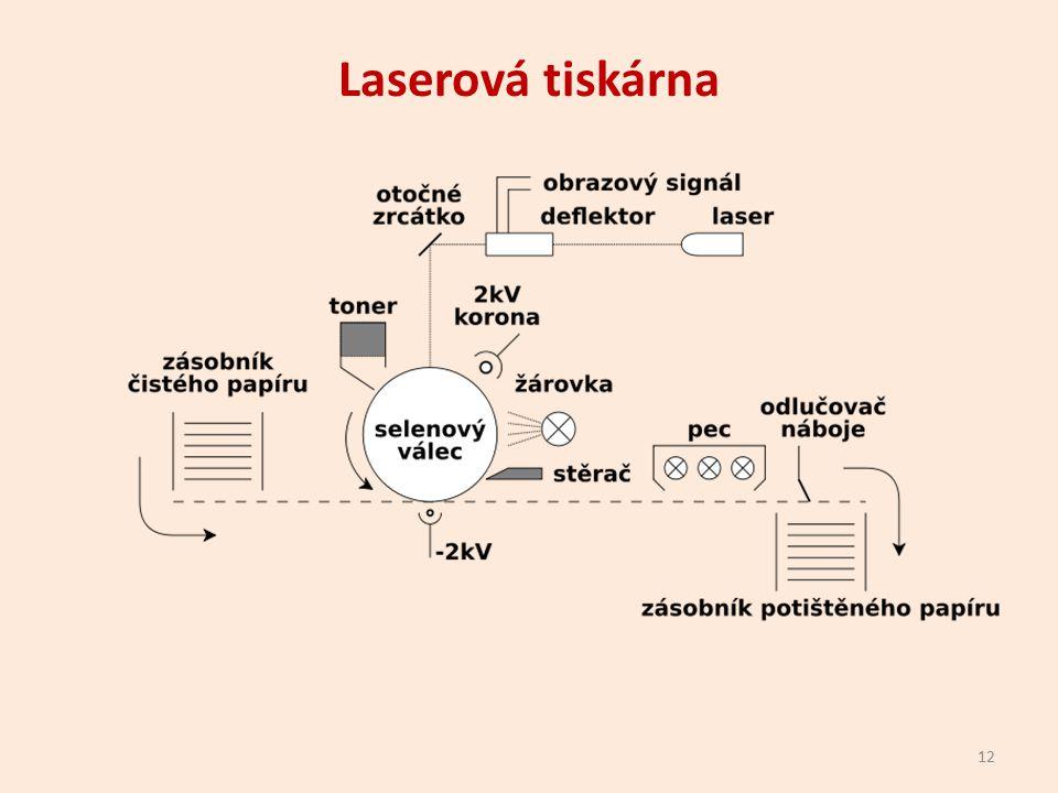 Laserová tiskárna 12