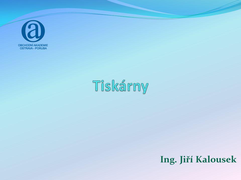 Ing. Jiří Kalousek