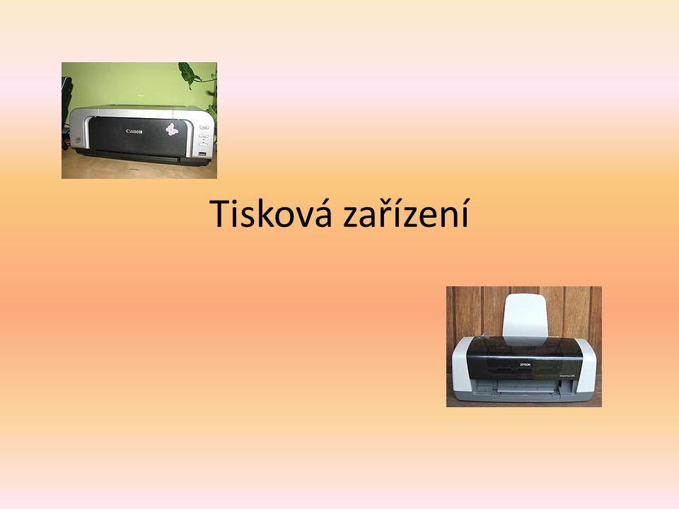 Inkoustová tiskárna  Je druh počítačových tiskáren používanýchpočítačových tiskáren hojně v domácnostech a firmách.