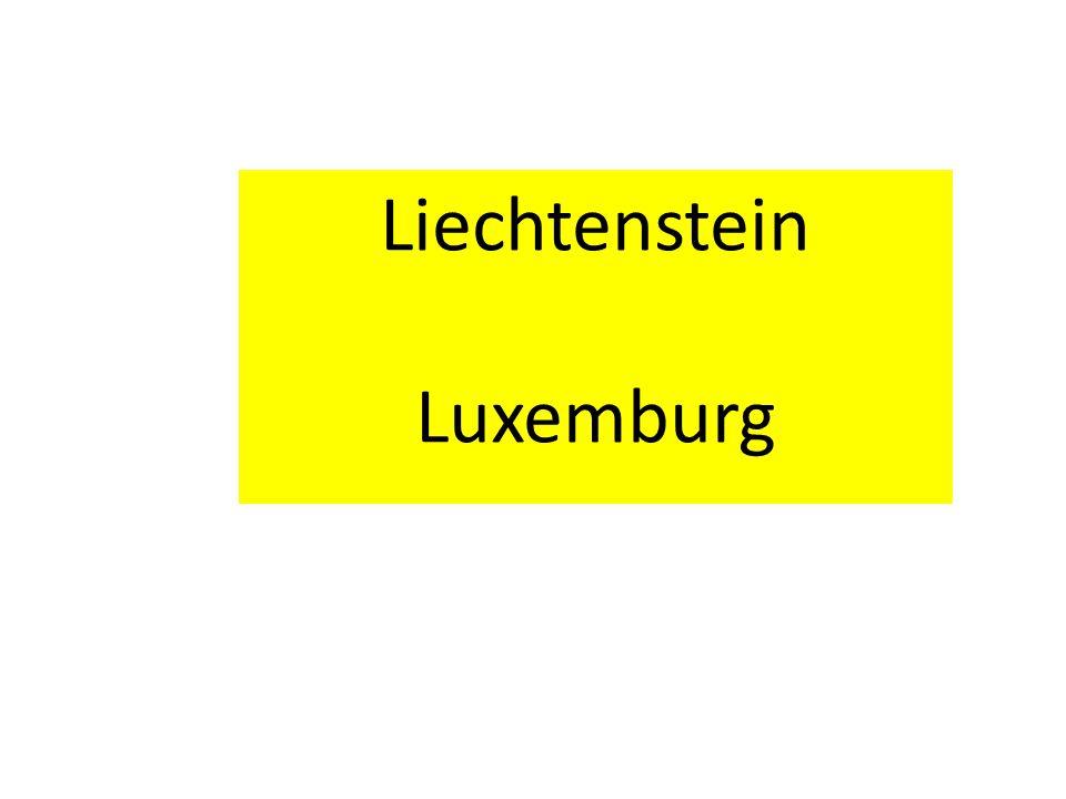 Liechtenstein Luxemburg