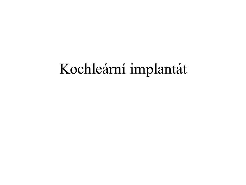 Kochleární implantát