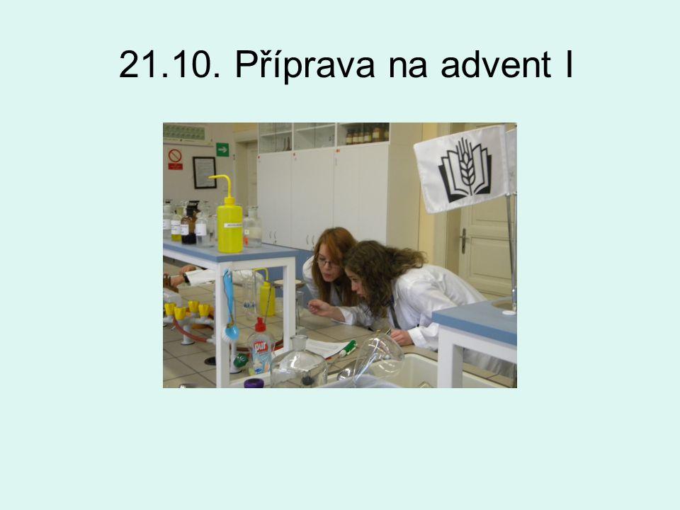 21.10. Příprava na advent I