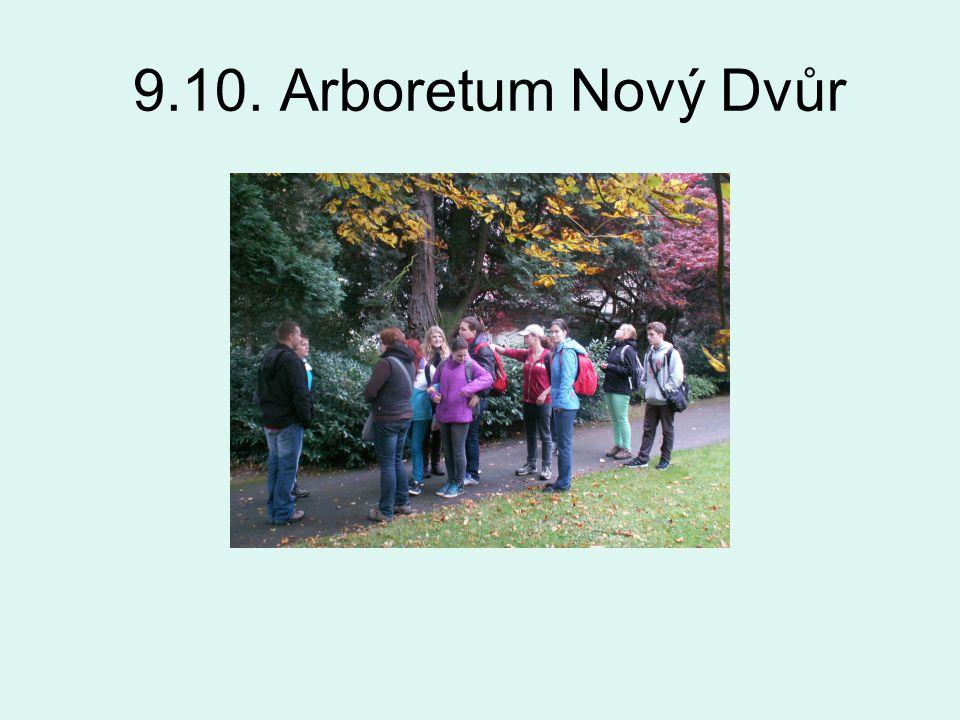 9.10. Arboretum Nový Dvůr
