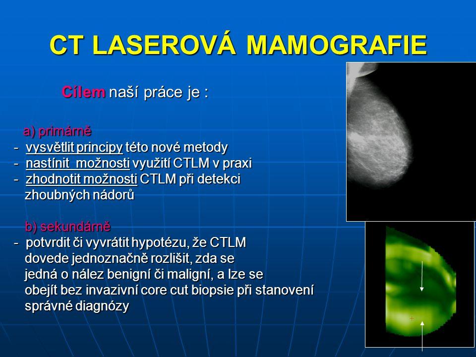 Histologické typy benigních lézí s prokázanou angiogenezí Fibróza 2 Fibróza 2 Chronická fibrózní mastopatie 2 Chronická fibrózní mastopatie 2 Phylloides tumor 1 Phylloides tumor 1----------------------------------------- Celkem 5 Celkem 5