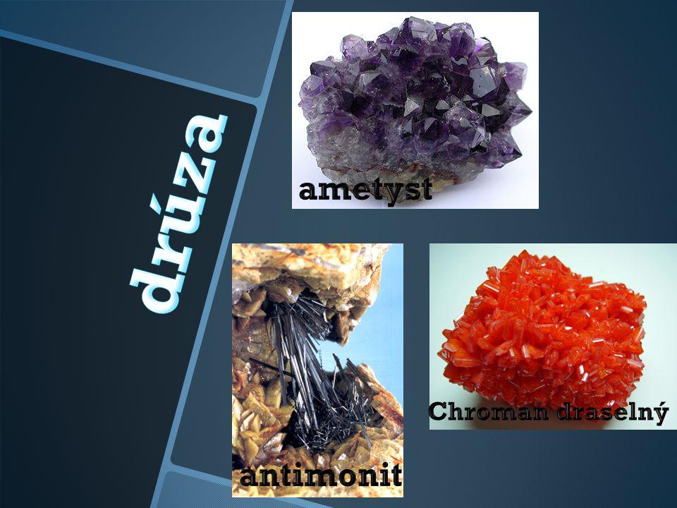 ŽÁRUVZDORNOST TEPELNÁ VODIVOST např.azbest, muskovit, tuha - malá, např.