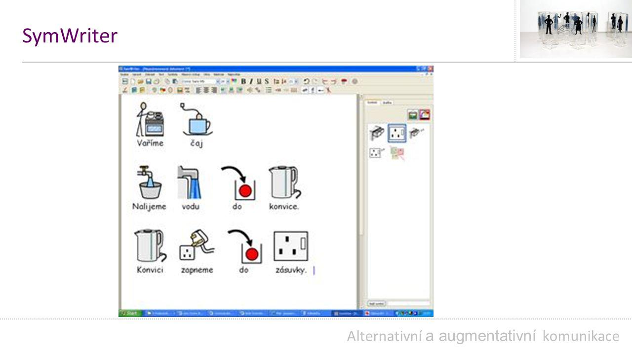 SymWriter Alternativní a augmentativní komunikace