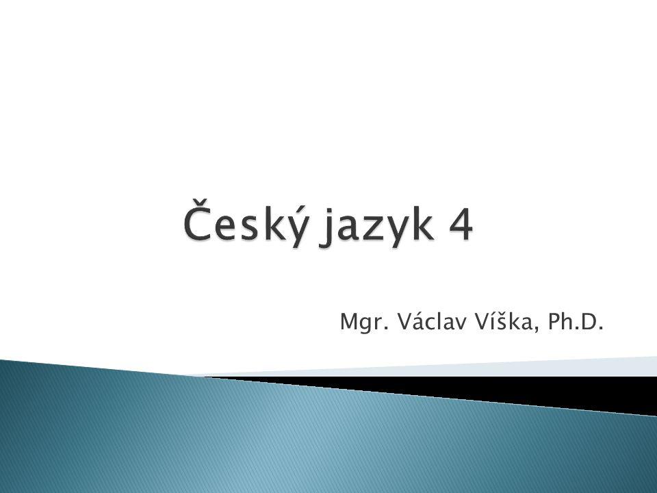 Mgr. Václav Víška, Ph.D.
