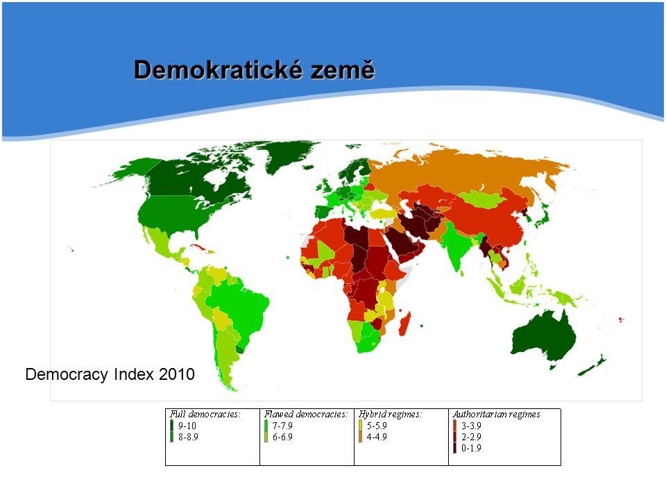 Demokratické země Democracy Index 2010