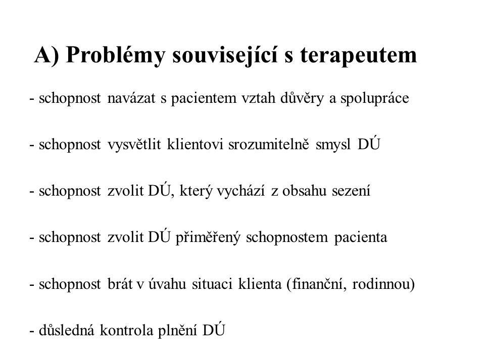 B.Problémy související se zadáním DÚ Zásady zadávání DÚ 1.